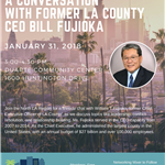 A Conversation with Former LA County CEO Flyer