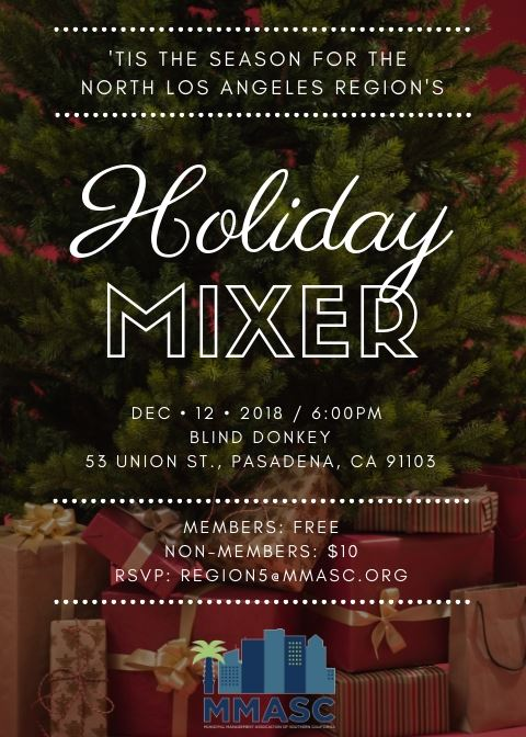 MMASC North LA Holiday Flyer 2018